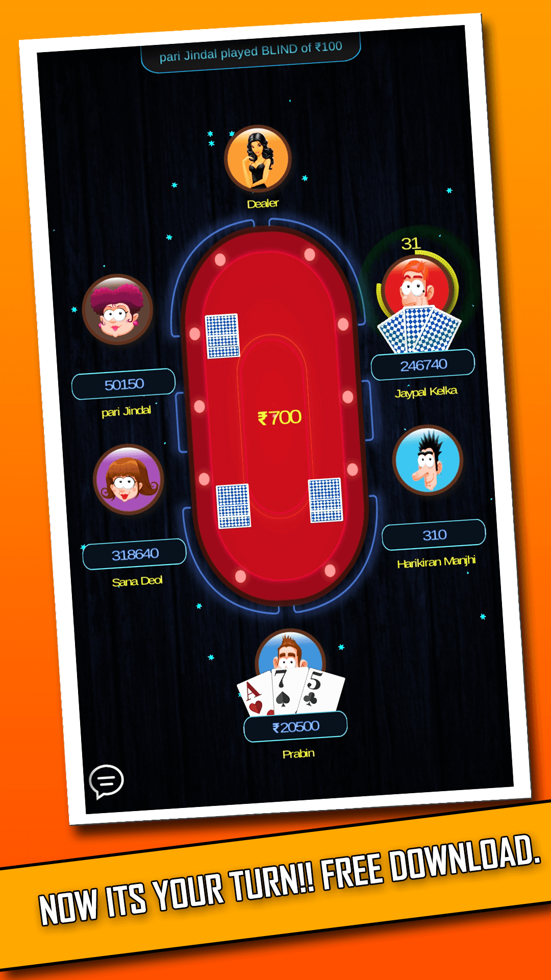 Download Teen Patti Unity 2017 source code browser